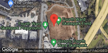 Locations for March 2019 Flag Football 7v7 (Co-Ed) - Rec Division - Historic 4th Ward Park - Saturday Morning