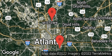Locations for October 2019 Kickball 10v10 (Co-Ed) - Recreational Division - Piedmont Park - Sunday Afternoon