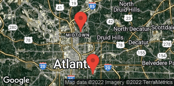 Locations for March 2019 Soccer 7v7 (Co-Ed) - Intermediate Division - Piedmont Park - Saturday Morning