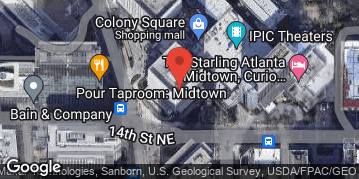 Locations for Colony Square Ping Pong Tournament
