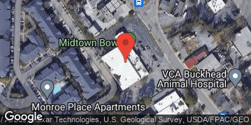 Locations for February Bowling 4v4 (Co-Ed) - Social - Midtown - Wednesday