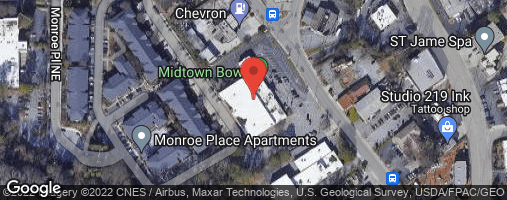 Locations for January 2020 QUICKIE Bowling 4v4 (OPEN) - Rec Division - Midtown Bowl - Wednesday