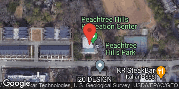 Locations for October 2019 Softball 10v10 (Co-Ed) - Rec Division - Peachtree Hills Park (Buckhead) - Sunday Afternoon