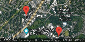 Locations for March Basketball 5v5 (Men's) - Competitive Division - Mercer University (Atlanta Campus) - Sunday Evening