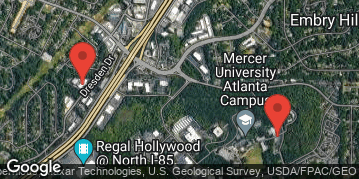 Locations for December 2019 Indoor Volleyball 6v6 (Women's) - Intermediate Division - Mercer University (Atlanta Campus) - Thursday