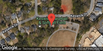 Locations for July 2019 Softball 10v10 (Co-Ed) - Rec Division - Brookhaven/Chamblee - Sunday Afternoon