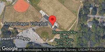 Locations for May 2020 Flag Football 7v7 (Co-Ed) - Intermediate Division - Honeysuckle Park - Sunday Morning