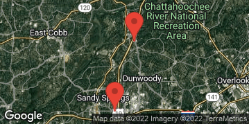 Locations for July 2020 Soccer 7v7 (Co-Ed) - Rec Division - Sandy Springs - Monday