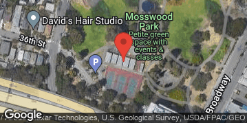 Locations for Fall 2019 - Coed 10vs10 Kickball at Mosswood Park