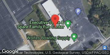 Locations for Thursday Coed Bowling @ Executive Strike & Spare
