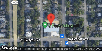 Locations for ***New Location Special save $75***Thursday Sand Volleyball @ 6 Pack Volleyball