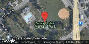 Locations for Spring 21 Sunday Coed Softball @ Camp Taylor