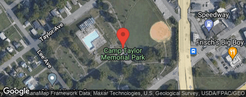 Locations for Fall 20 Friday Coed or Men's Softball @ Camp Taylor