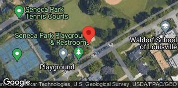 Locations for Thursday Kickball @ Seneca Park