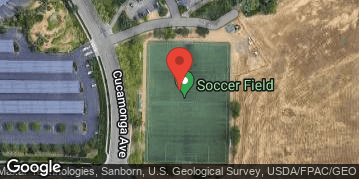 Locations for Soccer - Friday Coed & Men's (Spring '20)