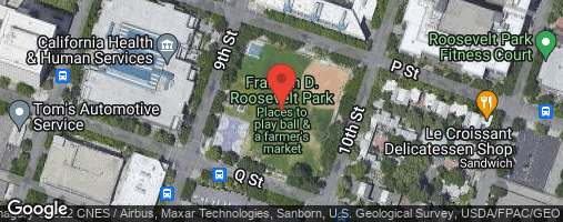 Locations for Kickball - Tuesdays (Spring '20)
