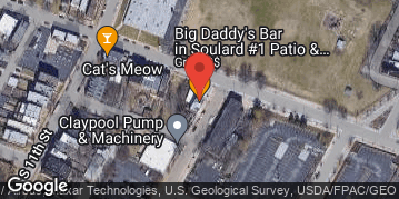 Locations for Beer Pong Tournament @ Big Daddy's (Soulard)