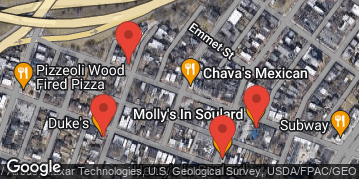 Locations for March Madness Charity Bar Crawl (Soulard)