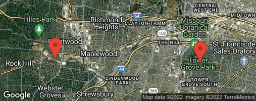 Locations for Summer20 - Wednesday Coed Kickball (Brentwood)