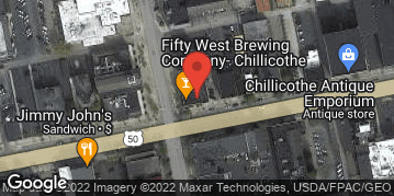 Locations for Chillicothe Dart League