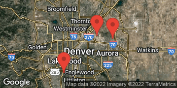 Locations for Fall 19 Monday 11v11 Men's and Coed Rec Soccer @ Denver Christian/DSGP (4 Divisions)