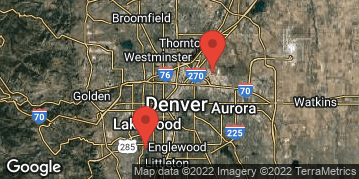 Locations for Fall 19 Monday 11v11 Coed Rec Soccer @ Denver Christian/DSGP (2 Divisions)