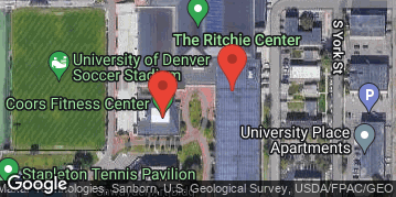 Locations for Fall 19 Saturday Men's Rec Basketball @ DU Sponsored by Pub on Pearl