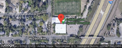 Locations for Indoor 6v6 Soccer Tournament @ Golden Goal