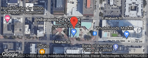 Locations for Fall 2020 Wednesday Downtown Recreational Bocce Ball League