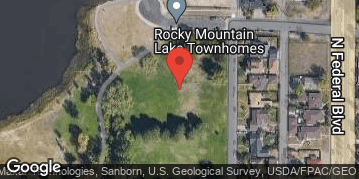 Locations for 7v7 Soccer Tournament @ Rocky Mountain Park