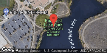 Locations for Fall 11v11 Soccer Tournament @ Parkfield Lake Park