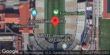 Locations for CU Football - CU Buffs vs. Washington Huskies
