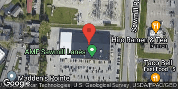 Locations for Fall 19 Wednesday Social Bowling League @ AMF Sawmill
