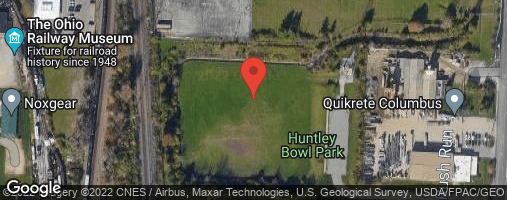 Locations for Fall 20 Sunday Coed Recreational Soccer @ Huntley Bowl