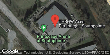 Locations for Fall 19 Thursday Axe Throwing @ Throw Pittsburgh South Pointe