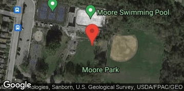 Locations for Summer '21 Pickleball - Mondays at Moore Park