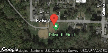 Locations for Fall '19 Kickball - Tuesday @ Dilworth