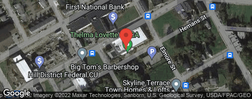 Locations for Winter '20 Dodgeball - Mondays @ Thelma Lovette YMCA