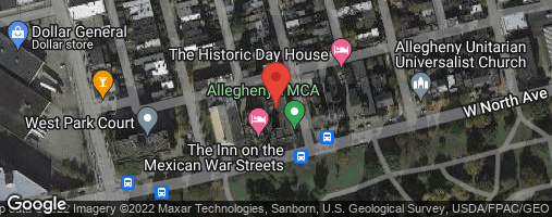 Locations for Spring '20 Dodgeball - Wednesdays @ the Allegheny YMCA