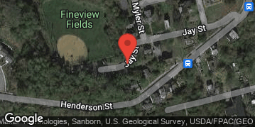 Locations for Fall '19 Softball - Tuesdays @ Fineview