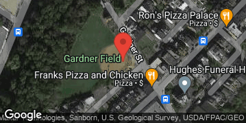 Locations for Summer '20 Kickball - Wednesdays @ Gardner