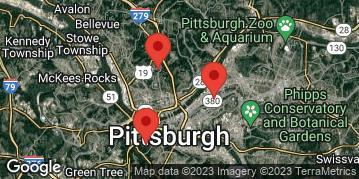 Locations for Spring '19 Kickball - Mondays @ West Penn