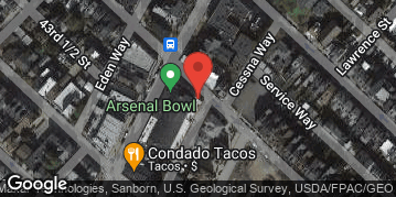 Locations for Fall '19 Bowling - Thursdays @ 7pm
