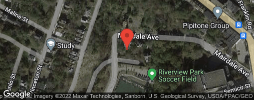 Locations for Fall 20 Friday Mens Soccer @ Riverview Field