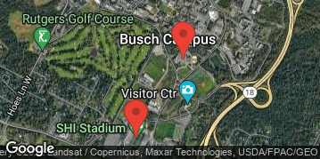 Locations for 3rd Annual Eric LeGrand Flag Football Tournament - Rutgers University