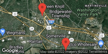 Locations for Spring 2020 - 8v8 Co-Ed Flag Football - Intermediate - Bridgewater/Somerset - Sunday Nights