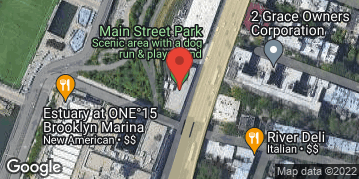 Locations for Fall 2021 - QUICKIE 7v7 Open Soccer - Intermediate - Brooklyn Bridge Park - Sunday Evenings