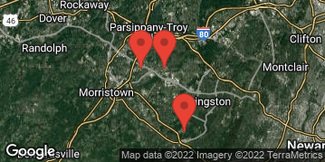Locations for Spring 2021 (2) - 5v5 Men's Basketball - Multi Division - Morristown Area - Tuesday