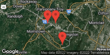 Locations for Spring 2021 - 5v5 Men's Basketball - Multi Division - Morristown Area - Tuesday