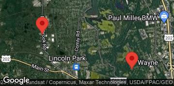 Locations for 8v8 Co-ed Soccer - Tuesday - Wayne